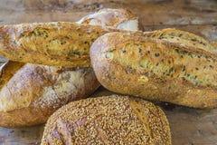 Różnorodni krajów chleby Zdjęcie Stock