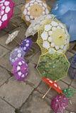 Różnorodni parasole Fotografia Stock