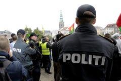 RÓŻNORODNI protestów wiece Zdjęcia Stock
