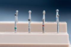 Różnorodni ustaweni chodnikowowie dla stomatologicznego froterowania Zdjęcie Royalty Free