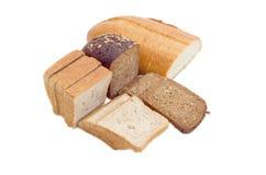 Różnorodny chleb na lekkim tle Zdjęcia Stock