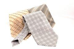różny trzy krawata Fotografia Royalty Free