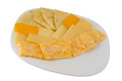 różnych rodzajów serów Zdjęcie Royalty Free