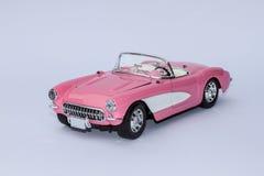 Różowa Chevrolet korweta Zdjęcia Royalty Free