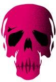 Różowa czaszka Obraz Stock