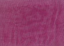 Różowa drelichowa tekstylna tekstura Zdjęcie Royalty Free