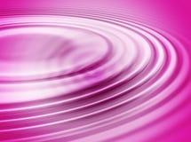 różowa fale wody Zdjęcie Royalty Free
