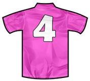 Różowa koszula cztery Obraz Stock