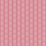 Różowa rocznik tapeta z lelujami Obrazy Royalty Free