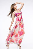różowa smokingowa kobieta Zdjęcia Royalty Free