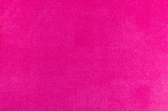różowa tkaniny konsystencja Fotografia Royalty Free