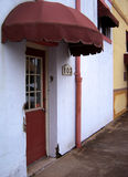 różowe drzwi Fotografia Stock