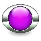 różowe ikon purpury Zdjęcie Stock