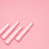 Różowe pomadki Obrazy Stock