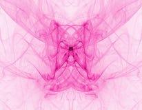 różowe streszczenie dym Zdjęcia Stock