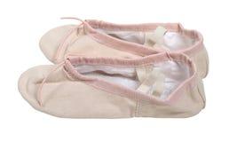 różowi baletów kapcie Obrazy Royalty Free