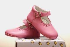 różowi buty obraz stock