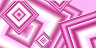 Różowi diamenty Obraz Royalty Free