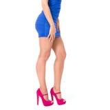 różowi kobieta buty Fotografia Stock