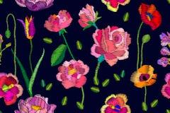Różowi kwitnienie kwiaty Obraz Royalty Free
