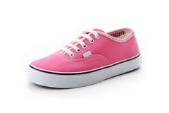 Różowi sportów buty Fotografia Royalty Free
