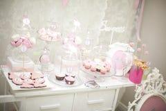 Różowy cukierku bar Fotografia Stock