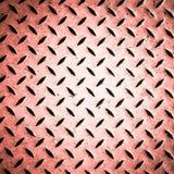 Różowy diamentowy stalowy talerz Zdjęcie Royalty Free