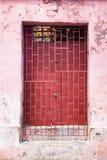Różowy drzwi Fotografia Stock