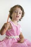 różowy dziewczyn. Fotografia Stock