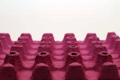 Różowy eggcup Obraz Stock