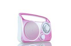 Różowy FM radio Obrazy Stock