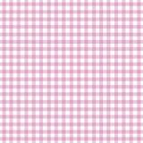 różowy gingham Zdjęcie Royalty Free