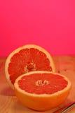 różowy grapefruitowe Zdjęcie Stock