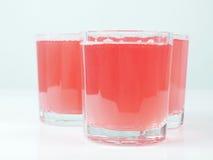 Różowy grapefruitowy saft Zdjęcia Royalty Free