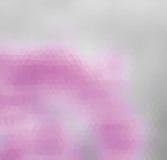 Różowy i szary trójbok Obrazy Stock