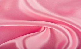Różowy jedwab Fotografia Royalty Free
