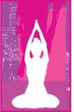 różowy jogi Fotografia Royalty Free