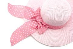 Różowy kapelusz Fotografia Royalty Free