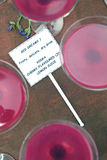 różowy koktajl Zdjęcia Royalty Free