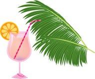 różowy koktajl ilustracji