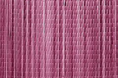 Różowy koloru sraw maty wzór Obraz Stock