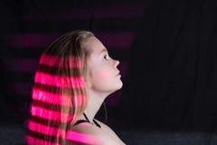 różowy lampas Zdjęcie Stock