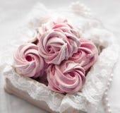 Różowy marshmallow Zdjęcie Stock