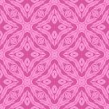 Różowy Ornamentacyjny Bezszwowy linia wzór Obrazy Royalty Free