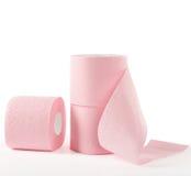 różowy papier toalety Obrazy Royalty Free