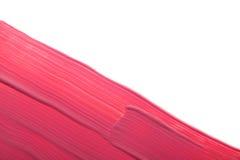 różowy pomadki smudge Fotografia Stock