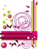 różowy przygody royalty ilustracja