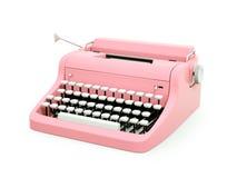 Różowy rocznika maszyna do pisania Zdjęcie Royalty Free