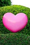 Różowy serce Obrazy Stock