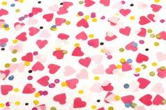 różowy serce Obraz Stock